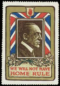 1912-14 Anti-Home Rule Poster Stamps