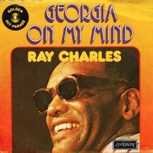 RAY CHARLES / GEORGIA ON MY MIND / HIT THE ROAD JACK(7インチ) - SLAP LOVER RECORD