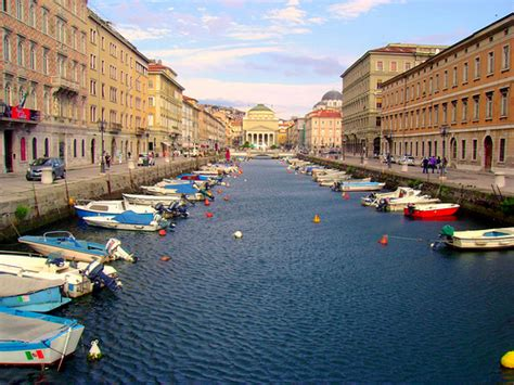Trieste, #1 on Lonely Planet's List of Overlooked Cities