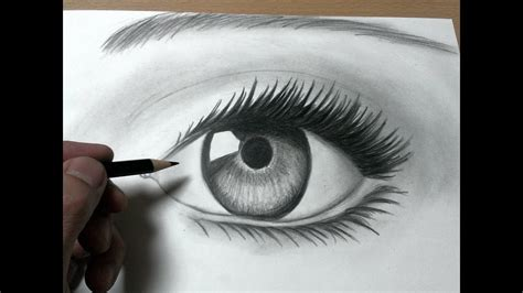 【鉛筆画】目の描き方 瞳 How to Draw a Realistic Eye - YouTube