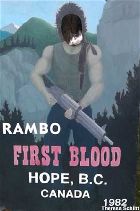 Hope, BC, Canada - Town Destroyed by Rambo