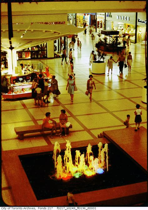 What Yorkdale Mall looked like in the 1960s and '70s