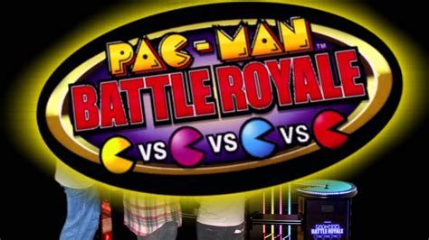 Pac-Man Battle Royale at Dave & Buster's - YouTube