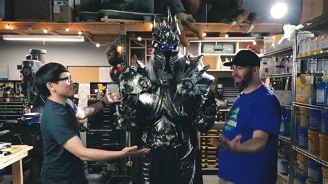 How the Lich King's armour was crafted - Hearthstone