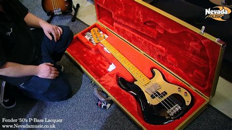 Fender 2013 Classic Series '50's P-Bass Black Lacquered